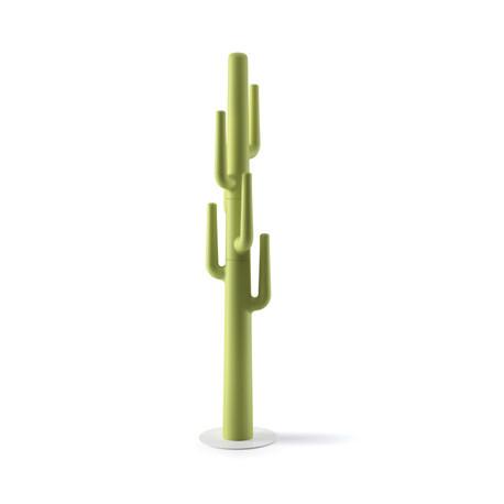 Porte-manteau cactus design Lapsus, Plust vert anis
