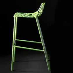 Tabouret de bar design Forest, Fast vert anis
