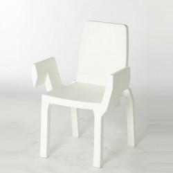 Chaise Doublix, Slide Design blanc