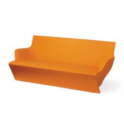 Canapé modulable Kami Yon, Slide design orange Mat