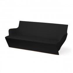 Canapé modulable Kami Yon, Slide design noir Laqué
