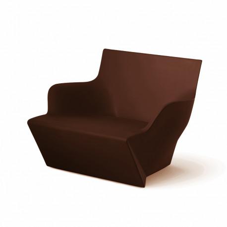 Fauteuil modulable Kami San, Slide Design chocolat Mat