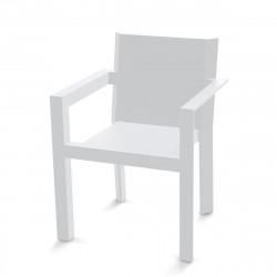 Fauteuil Repas Frame, Vondom blanc Mat