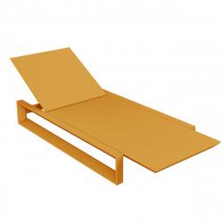 Chaise longue Frame, Vondom orange Mat