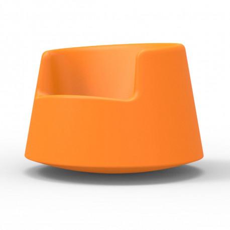 Fauteuil Roulette, Vondom orange, modèle adulte
