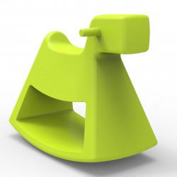 Chaise à bascule Rosinante, Vondom pistache Petit modèle