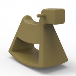 Chaise à bascule Rosinante, Vondom kaki Petit modèle
