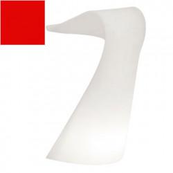Pupitre design Swish, Slide rouge