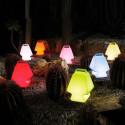 Lampe Prêt à porter, Slide Design orange Lumineux à ampoule