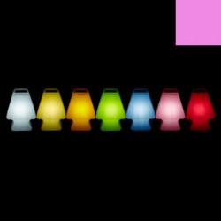 Lampe Prêt à porter, Slide Design rose Lumineux à ampoule