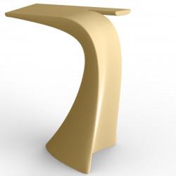 Table haute design Wing, Vondom beige Mat