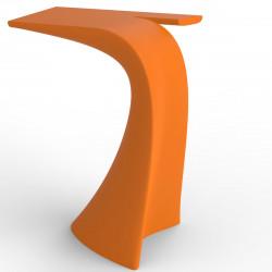 Table haute design Wing, Vondom orange Mat