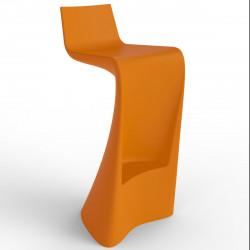 Tabouret de bar Wing, Vondom orange Mat