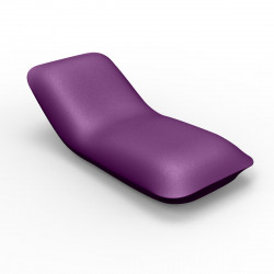 Chaise longue Pillow, Vondom violet Mat