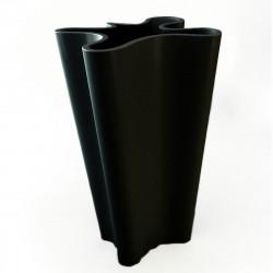 Pot Bye Bye, Vondom noir Hauteur 70 cm
