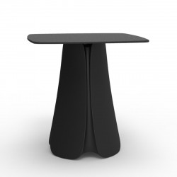 Table design Pezzettina, Vondom noir 70x70xH72 cm