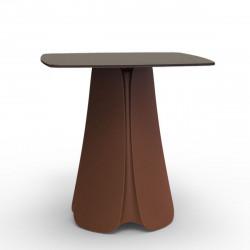 Table design Pezzettina, Vondom bronze 70x70xH72 cm