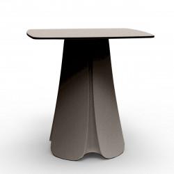 Table design Pezzettina, Vondom taupe 80x80xH72 cm