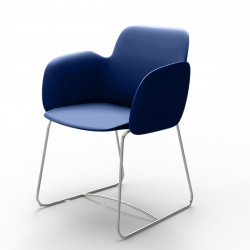 Chaise de repas Pezzettina, Vondom bleu