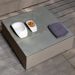 Table basse Touch, Talenti taupe