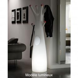 Porte-manteau arbre design Godot, Lumineux à ampoule pour l\'intérieur, Plust Collection, embouts rouge