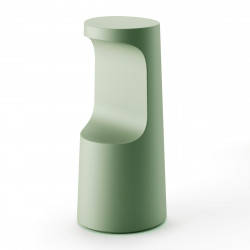 Tabouret haut design Fura, Plust Collection romarin