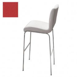 Tabouret design Stone, hauteur d'assise 75 cm, Midj rouge