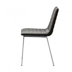Chaise design Cover, Midj gris foncé