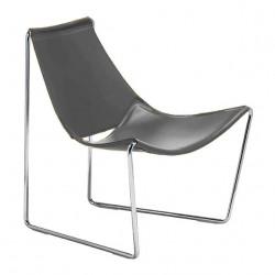 Chaise lounge Apelle AT, Midj gris foncé