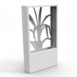 Pot de jardin design Agave, Talenti blanc