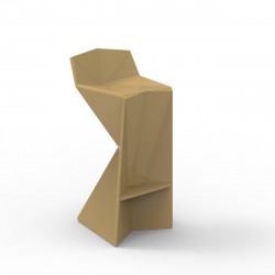Tabouret design Vertex, Vondom beige Mat