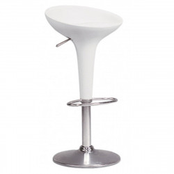 Tabouret de bar Bombo, Magis blanc Réglable 61/85 cm