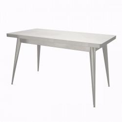 Table 55 Verni, Tolix brillant 130x70 cm