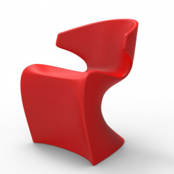 Chaise Wing, Vondom rouge Laqué