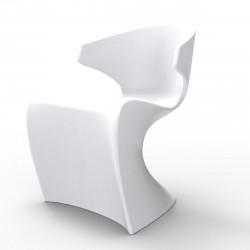 Chaise Wing, Vondom blanc Laqué