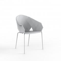 Lot de 4 chaises Vases, Vondom blanc