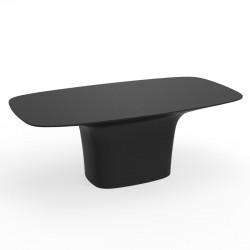 Table Ufo, Vondom noir Longueur 200 cm
