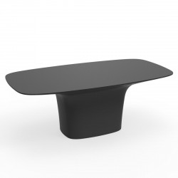 Table Ufo, Vondom anthracite Longueur 200 cm