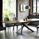 Table Sculptura en bois Chêne spessart 200x106 cm