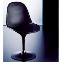Chaise pivotante Prestigio noir