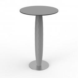 Table haute Vases, Vondom acier Diamètre 70 cm