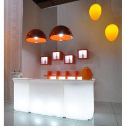 Break Line Bar lumineux, Slide Design blanc