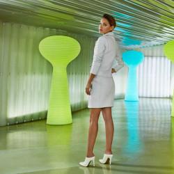 Lampadaire Bloom, Vondom blanc Lumineux LED RGB