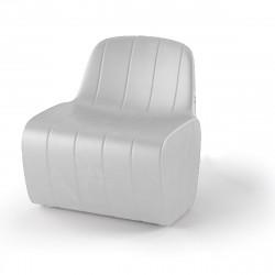 Chauffeuse modulable Jetlag, Plust blanc