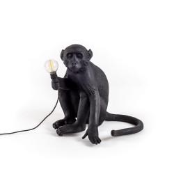 Lampe à poser Monkey Sitting, Seletti noir
