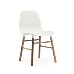 Form Chair Noyer, Normann Copenhagen Blanc