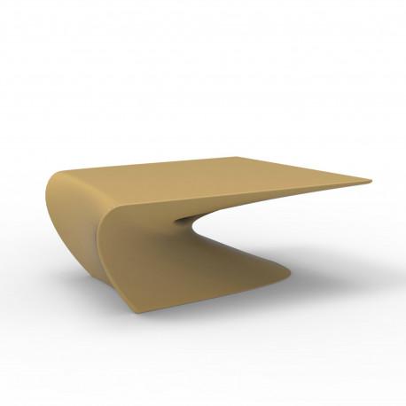 Table basse design Wing, Vondom Beige Mat