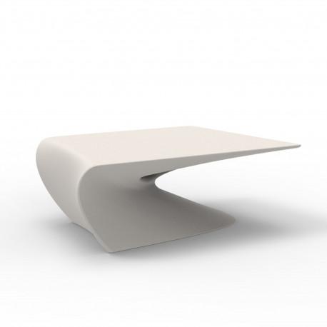 Table basse design Wing, Vondom Ecru Mat