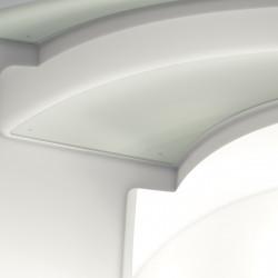 Tablette Desk en verre trempé, pour Break bar, Slide Design