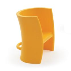 Fauteuil enfant et chaise à bascule Trioli, 2 en 1, Magis Me Too jaune
